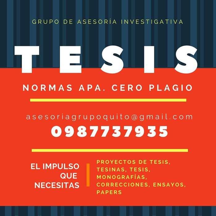 ASESORIA TESIS DE PSICOLOGÍA