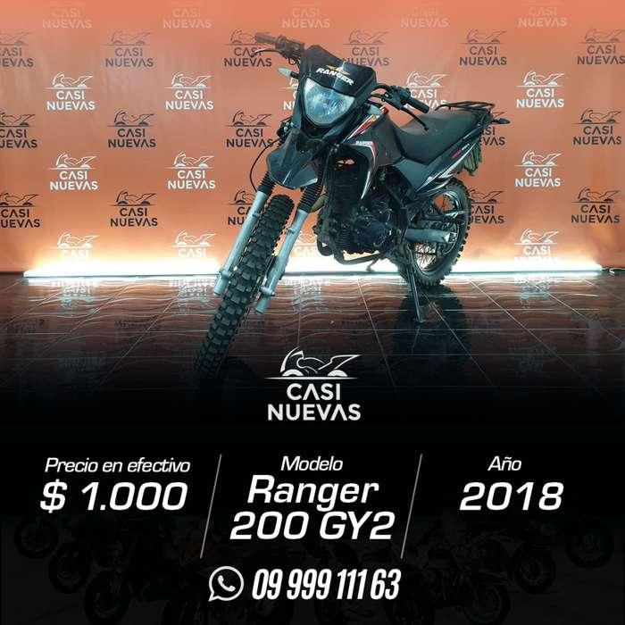 Motocicleta Ranger 200 GY 2