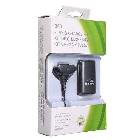 Cable Cargador Xbox 360 Batería Recargable 4800mah
