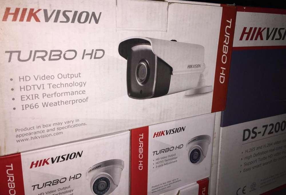 Camaras de Seguridad Hikvision Instalo.