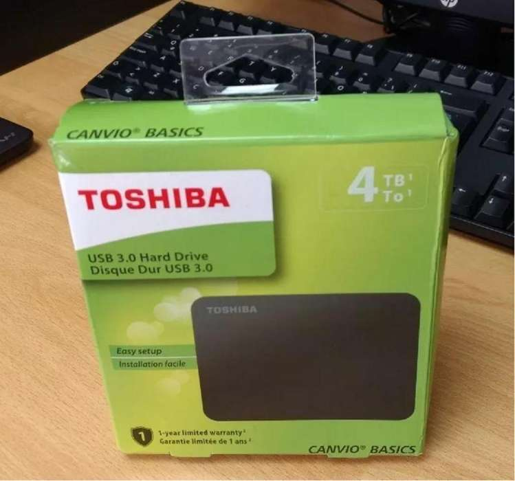 Disco Duro Externo 4TB Toshiba , Usb 3.0