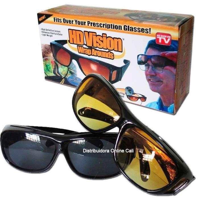 Gafas Hd Vision Para Sol y Noche Lentes Recibe 2 Por 1 PROMOCIÓN