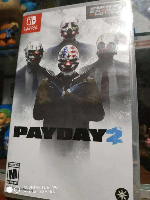 Juego Nintendo Switch Payday 2 a 90 Sole