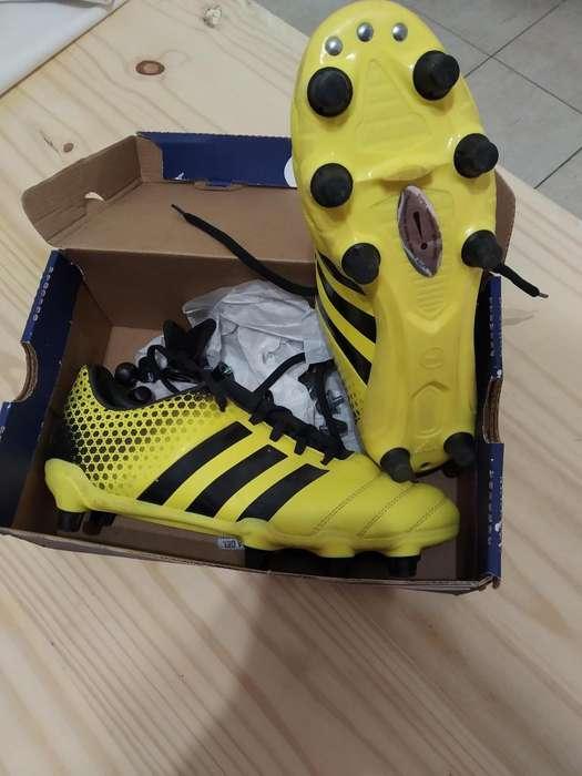 Botines Adidas un solo uso!!!