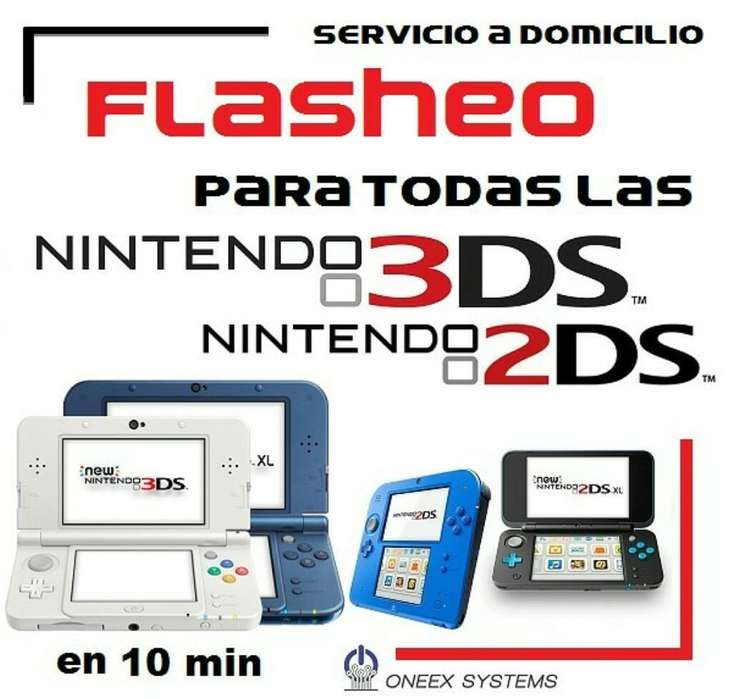 Flasheo de Nintedo New 3ds