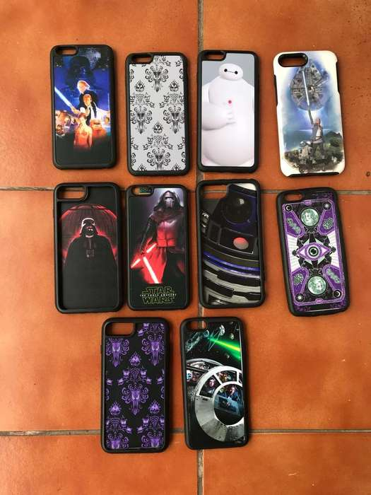 Estuches <strong>carcasas</strong> iPhone 7 Plus Y 8 Plus