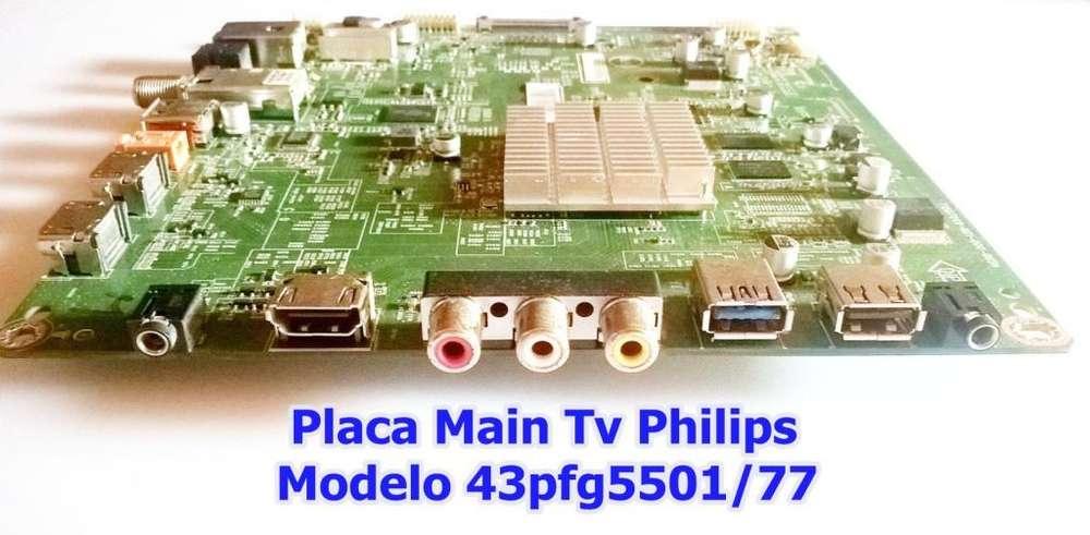 Placa Main Tv Philips 43 Modelo 43pfg5501/77