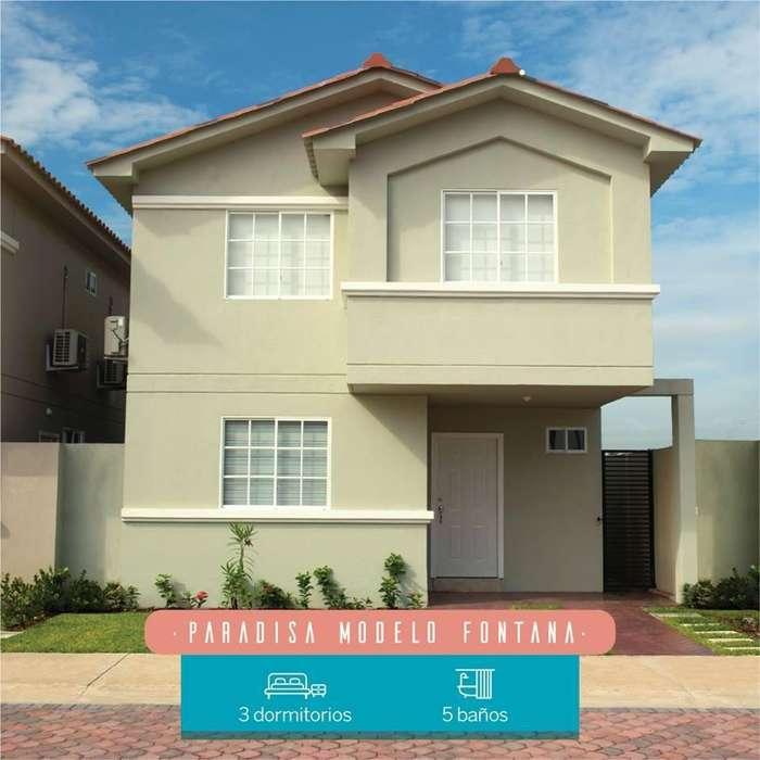 Venta de Casa en Urb. Casa Laguna con acabados de lujo a pocos minutos de Ciudad Dorado, Samborondon