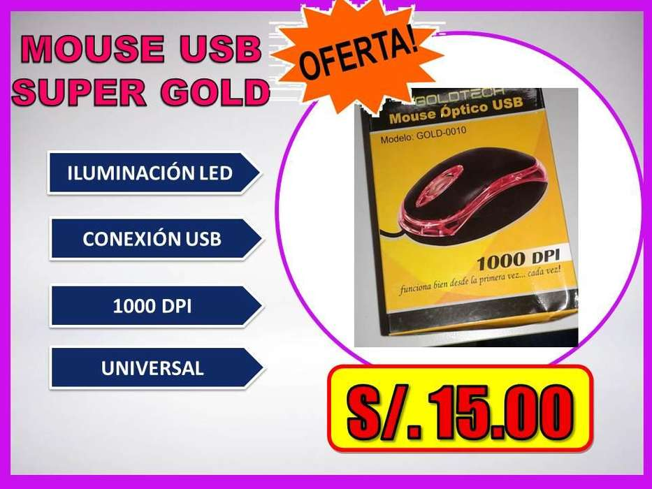 <strong>mouse</strong> USB SUPER GOLD