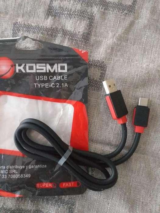 CABLE DE DATOS MIRO USB TIPO C , REFORZADO, KIOSMO NUEVO,