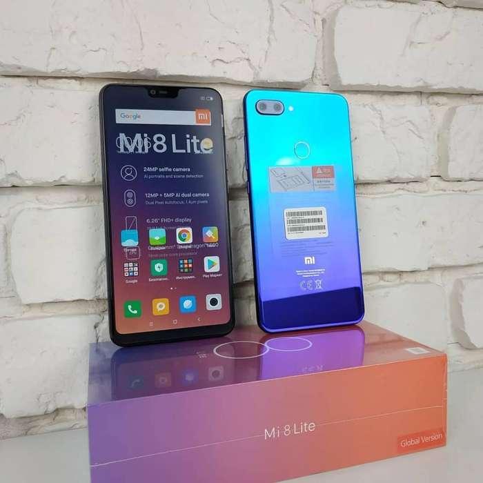 Xiaomi Mi 8lite Negro Y Azul