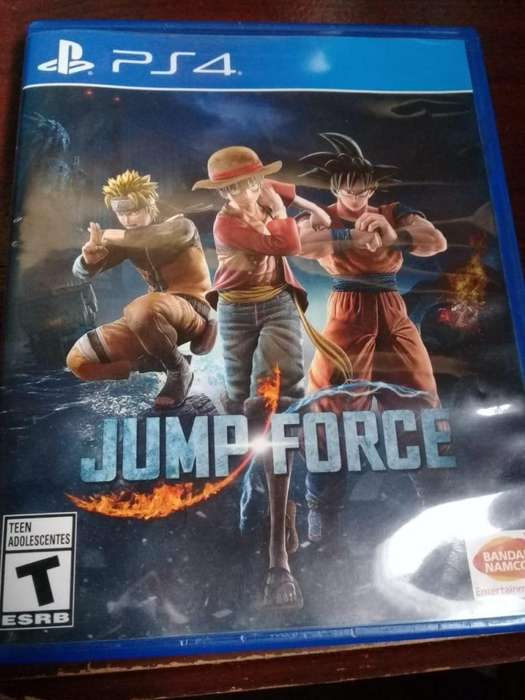JUMP FORCE PS4 EXELENTE ESTADO