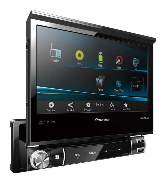 Stereo Pioneer AVHX6550DVD Mixtrax