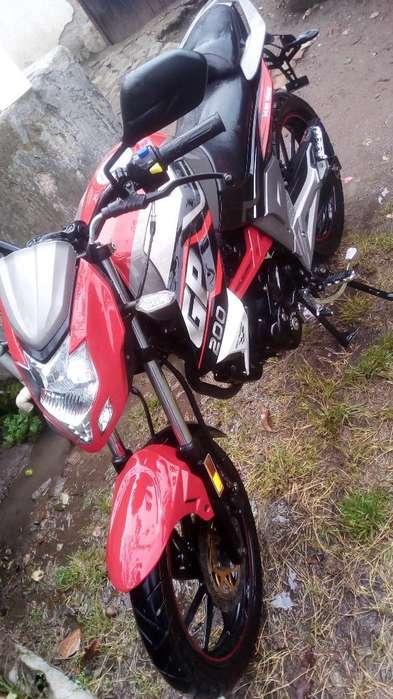 Moto Shineray 200 (casi <strong>nueva</strong>)