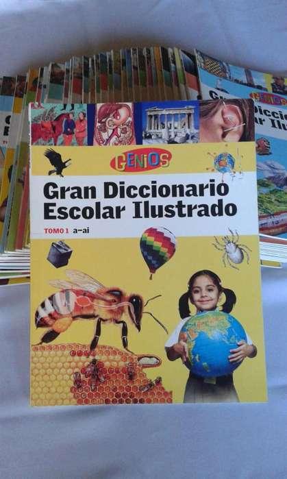Diccionario Escolar Ilustrado del 1 al 42. GENIOS