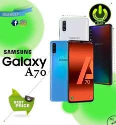 Cyber WOW Samsung A70 A70 Huella en pantalla / Tienda física Centro de Trujillo / Celulares sellados Garantia 12 Meses
