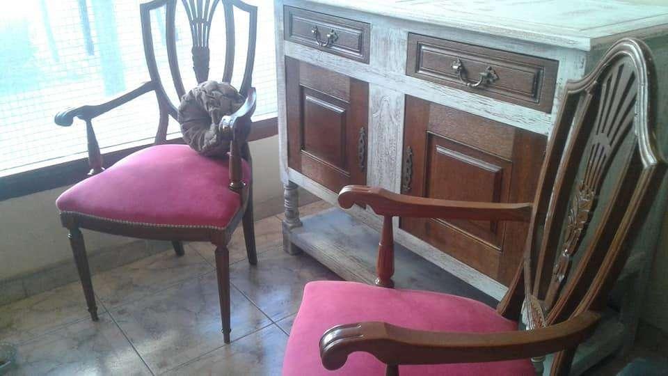 vendo precioso mueble de estilo restaurado y decapado