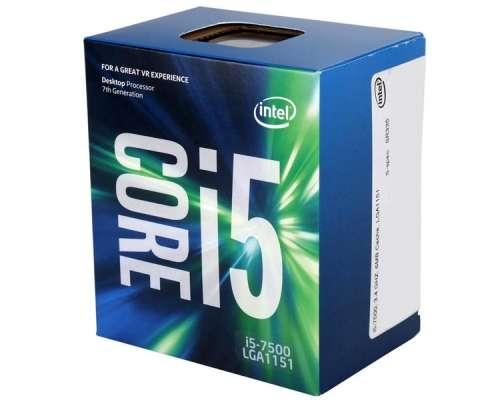 Cpu Intel S1151 Intel Kabylake Core I5 - 7400