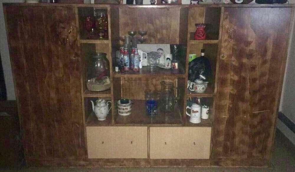 Mueble de Madera de Lino