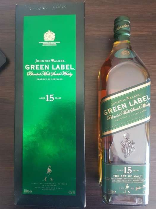 Whisky Green Antigua 1 Litro
