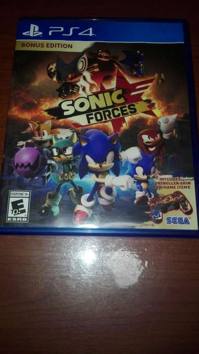 Juego Ps4 Sonic Forces