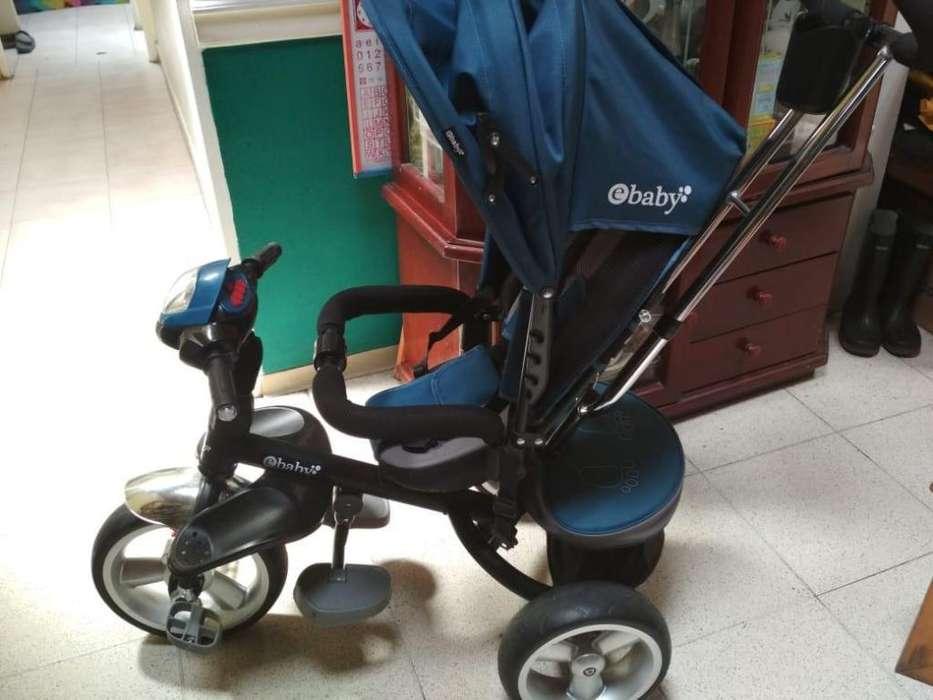 Combo de: Coche/Triciclo, Cuna/Mesedora, Silla para Vehículo