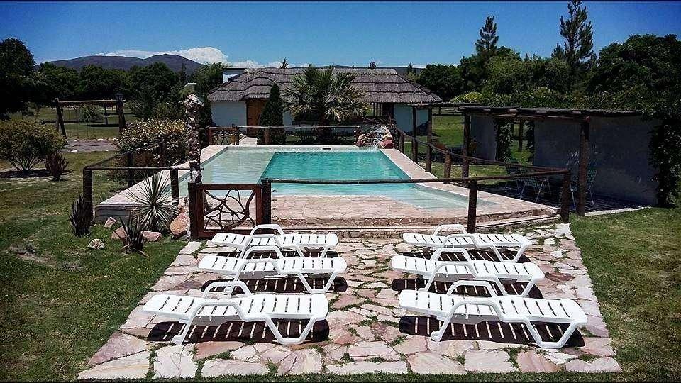 wt04 - Cabaña para 2 a 5 personas con pileta y cochera en San Rafael