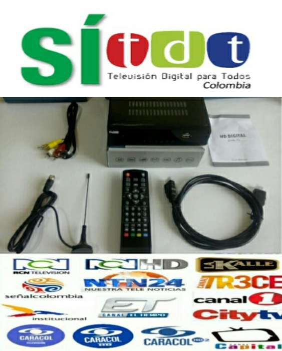 Decodificador Tdt Hd Puerto Usb
