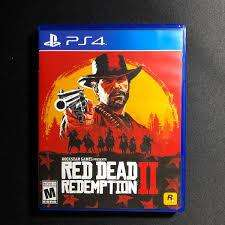 RED DEAD REDEMPTION 2 PS4 PLAY STATION 4 EXCELENTE ESTADO
