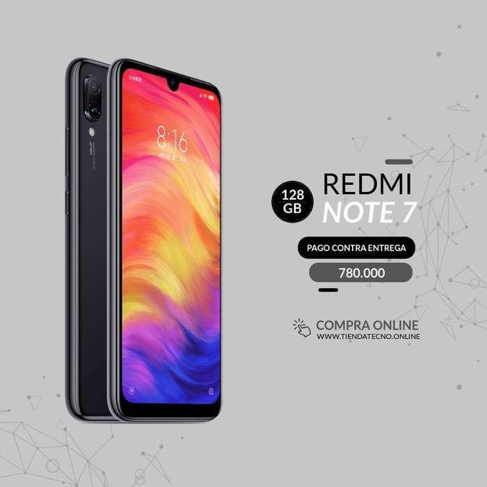 Redmi Note 7 128 Gb Nuevas