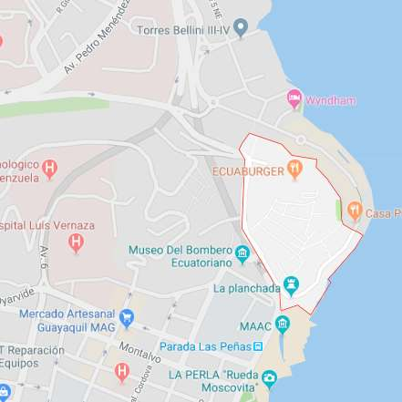 Las Peñas, 300m2, Comercial, Terreno en Venta, Centro, Malecon, Puerto Santa Ana