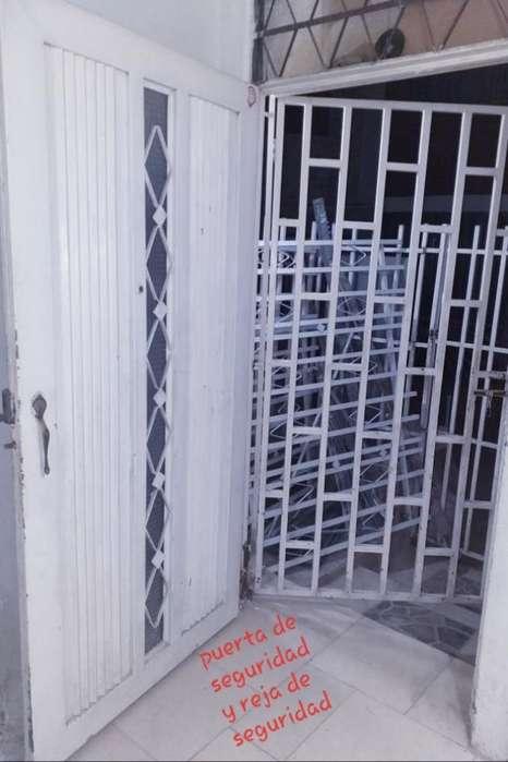 Combo Rejas Seguridad Ventana Y Puerta