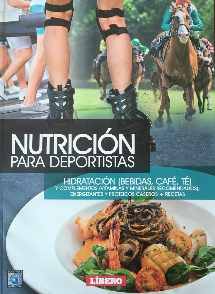Revistas nutrición para deportistas NUEVA de paquete