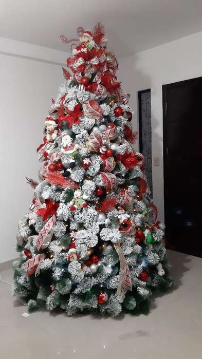 Vendo Árbol de Navidad Nevado Nuevo