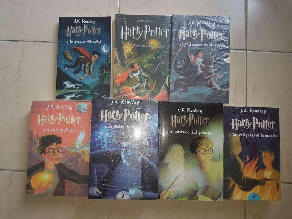 Saga Libros de Harry Potter