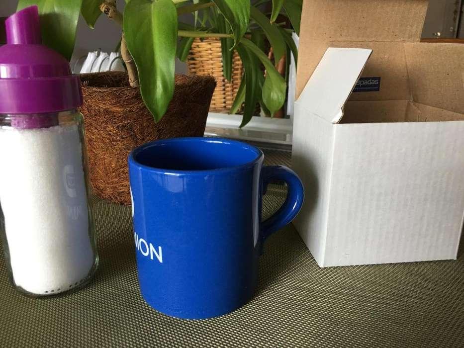 Taza / Jarro recto de cerámica ANCERS apto <strong>microondas</strong>