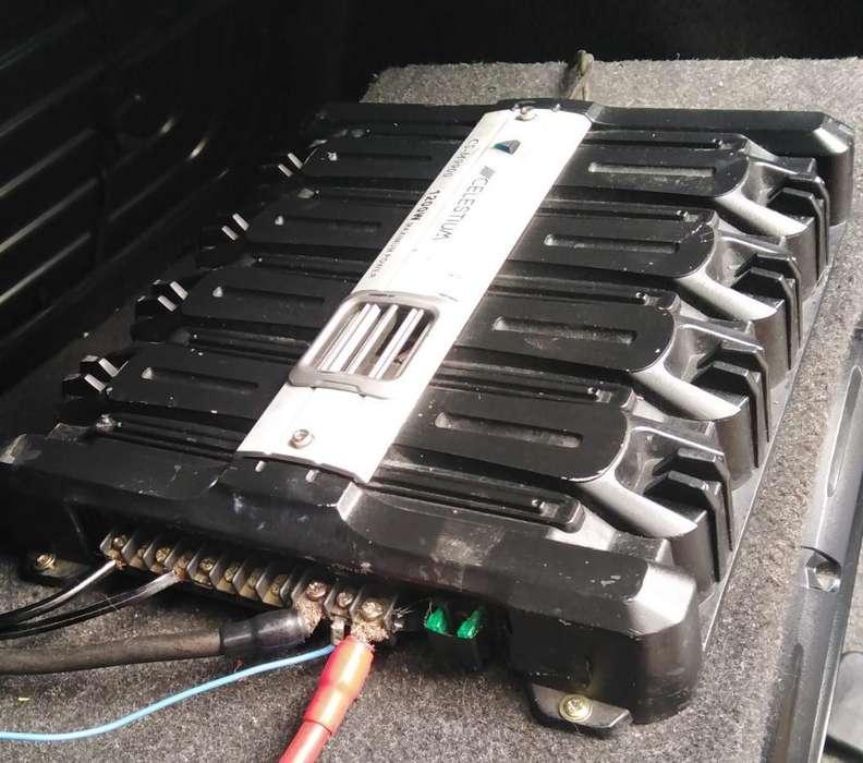 Amplificador Celestium 1200w