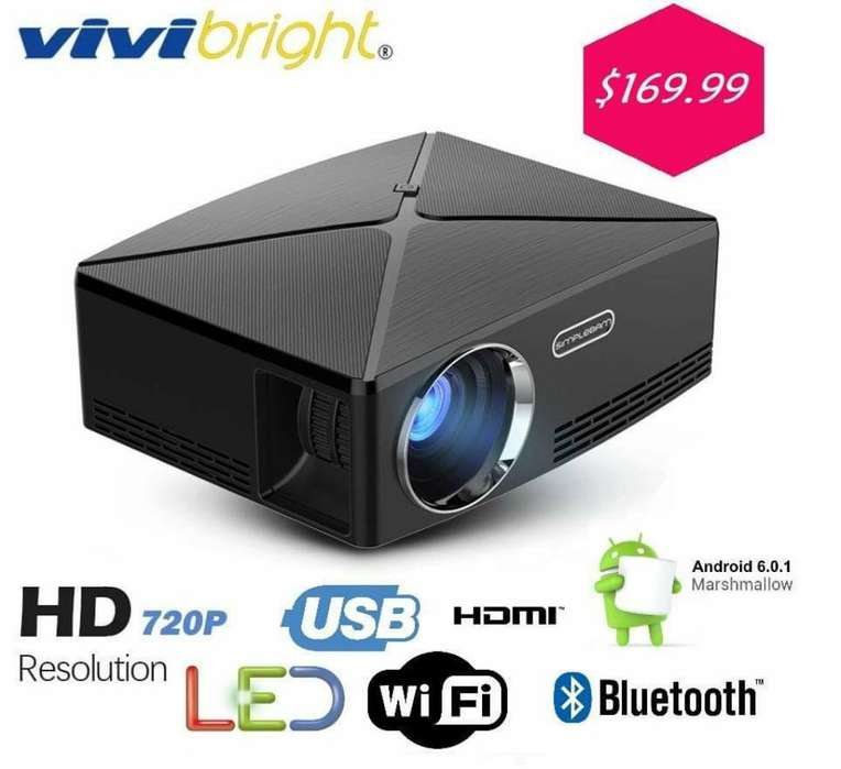 Proyector 2800 Lumenes con Android Wifi