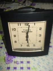 cea5fa1781c7 Reloj Despertador Timex Easy Brade A Pila Impec Funcionando ...