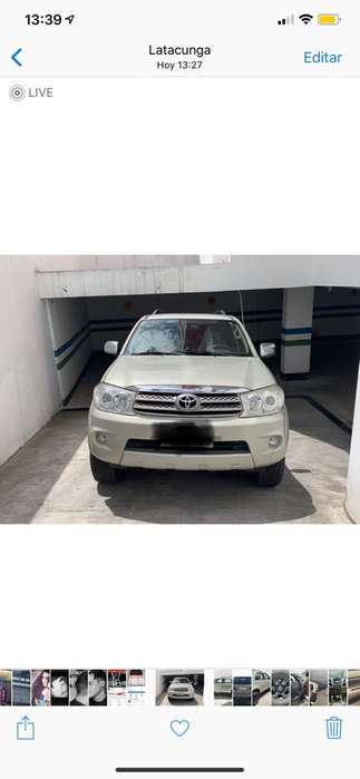 Toyota Fortuner 2011 - 178000 km
