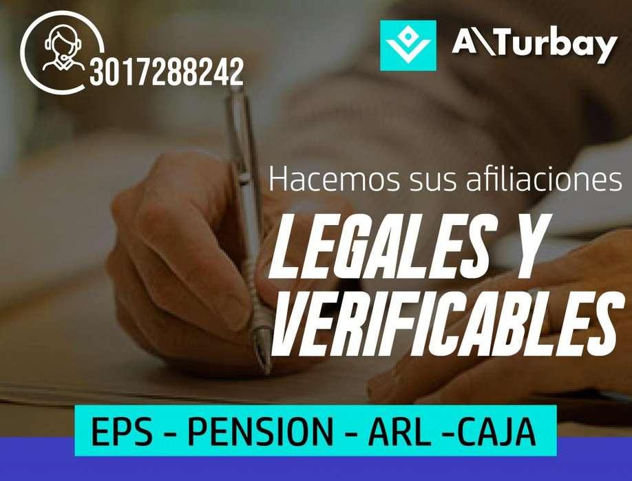 AFILIACION SALUD TODO EN SEGURIDAD SOCIAL HACEMOS SU AFILIACION A EPS CON CERTIFICADO 3003208895 AFILIACION ARL