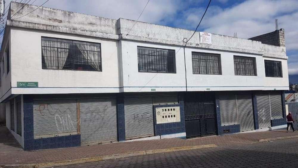 PROPIEDAD COMERCIAL Y BODEGAS EN LA CDLA. NUEVA AURORA, 211 m2 DE TERRENO Y 461.67 m2 DE CONSTRUCCIÓN