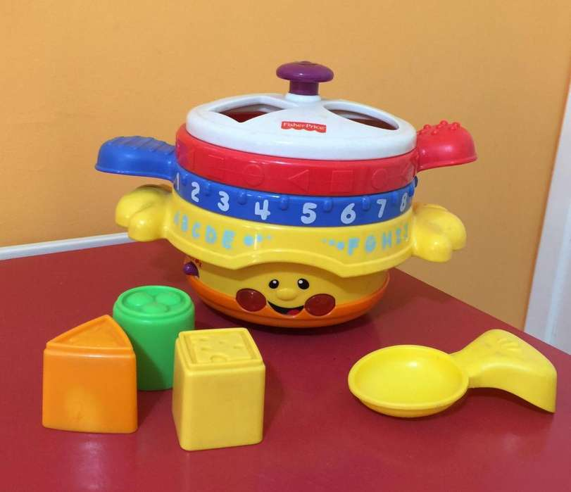 Fisher Price. OLLAS INTERACTIVAS MUSICALES – Excelente estado