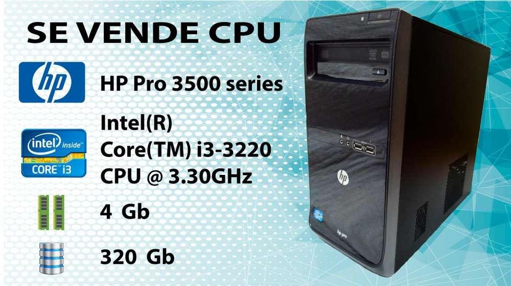 Hp Pro 3500 Series Mt Intel Core I3 CPU 4gb Ram 320gb Disco Duro Incluye Karaoke 7700 canciones