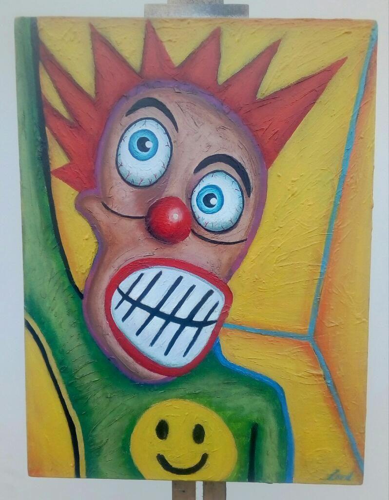 Pintura Al Oleo Punk.