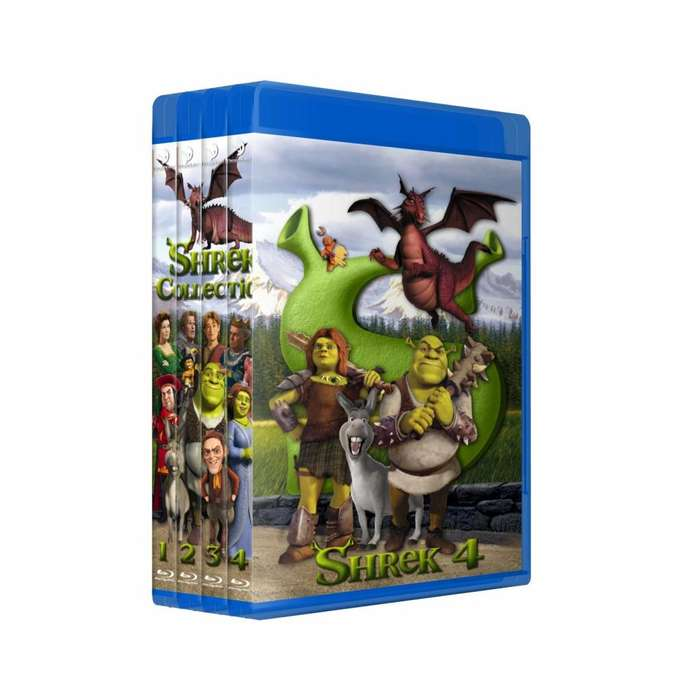 Shrek 1 2 3 4 Bluray Latino/ingles Subt Español