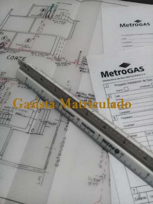 Gasista Matriculado Metrogas Montserrat Capital Federal