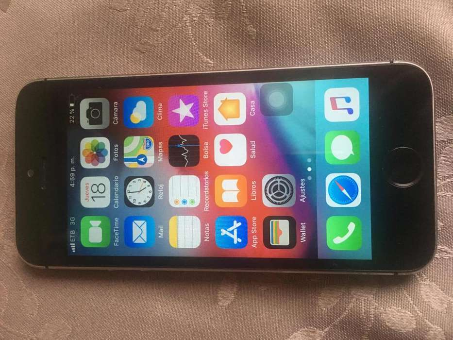 vendo o cambio iphone 5S 16 gb buen estado