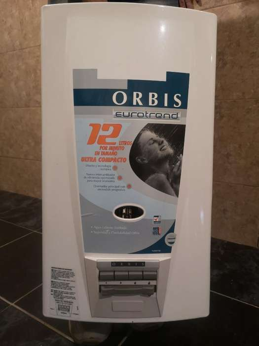Calefon Orbis Eurotrend 12 Lts Nuevo