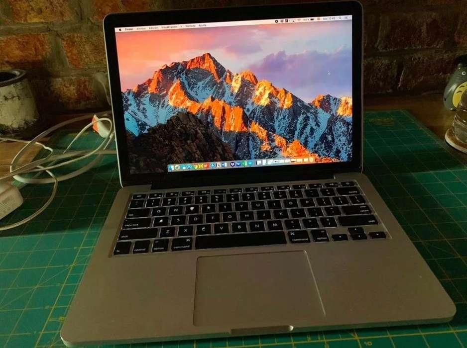 "Macbook Pro 13"" Retina Late año 2013 I5 8gb 256 SSD"